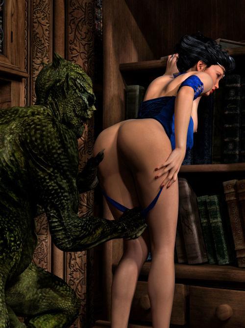 Hibbli3D – Sorceress Lori - Sold To Demons - part 4