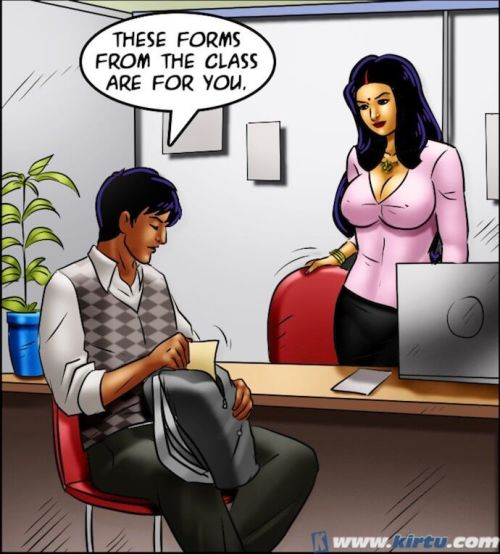 Savita Bhabhi 69- Student Affairs - part 9